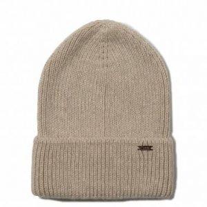 Шапка женская ⭐️ Вязаная шапочка-бини из пряжи с мохером и шерстью ⭐️