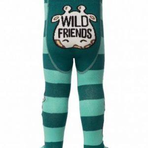 Колготки хлопковые детские ⭐️ Колготки хлопковые детские TIP-TOP (веселые ножки) темно-бирюзовый ⭐️