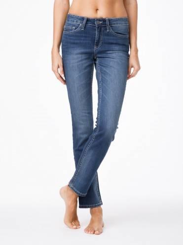Джинсы женские классические ⭐️ Классические прямые джинсы со средней посадкой 2091/49123 ⭐️