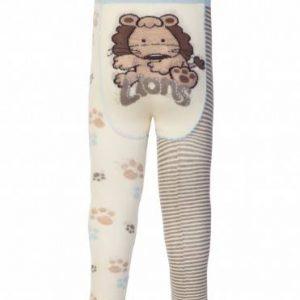 Колготки хлопковые детские ⭐️ Колготки хлопковые детские TIP-TOP (веселые ножки) молочный джинс ⭐️