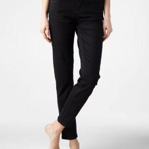 Брюки джинсовые ⭐️ Джинсы Mom Slim из премиального денима Premium Stay Black CON-283 ⭐️