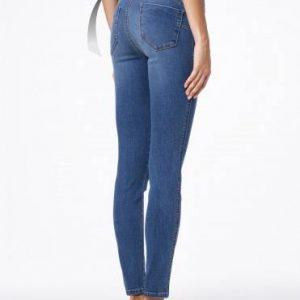 Джинсы женские моделирующие ⭐️ Моделирующие джинсы PUSH UP с высокой посадкой CON-41 ⭐️