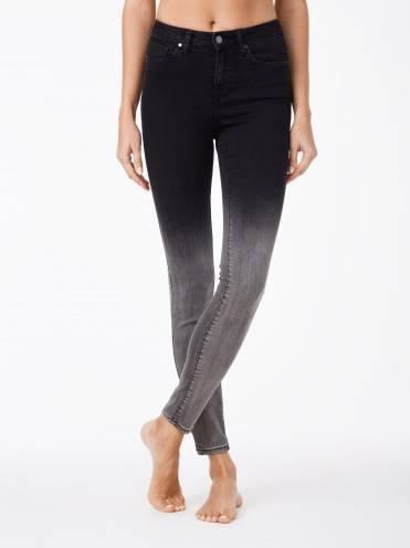 Джинсы женские fashion ⭐️ Моделирующие джинсы с эффектом градиента CON-57 ⭐️