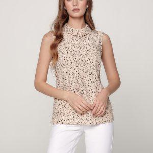 Блузка женская ⭐️ Блузка в горошек из премиальной вискозы LBL 1173 ⭐️