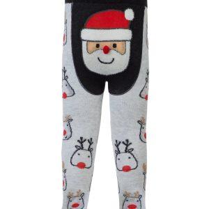 """Колготки детские ⭐️ Новогодние колготки """"Санта-Клаус"""" с помпоном ⭐️"""