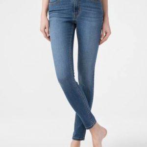 Брюки джинсовые ⭐️ Ультракомфорные eco-friendly джинсы skinny со средней посадкой CON-182 ⭐️
