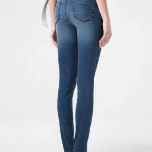 Брюки джинсовые ⭐️ Моделирующие eco-friendly джинсы skinny push-up с высокой посадкой CON-144 ⭐️
