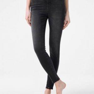 Брюки джинсовые ⭐️ Моделирующие eco-friendly джинсы super skinny c высокой посадкой CON-171 Lycra® ⭐️