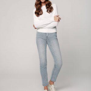 Брюки джинсовые ⭐️ Джинсы CON-344 straight leg c высокой посадкой ⭐️