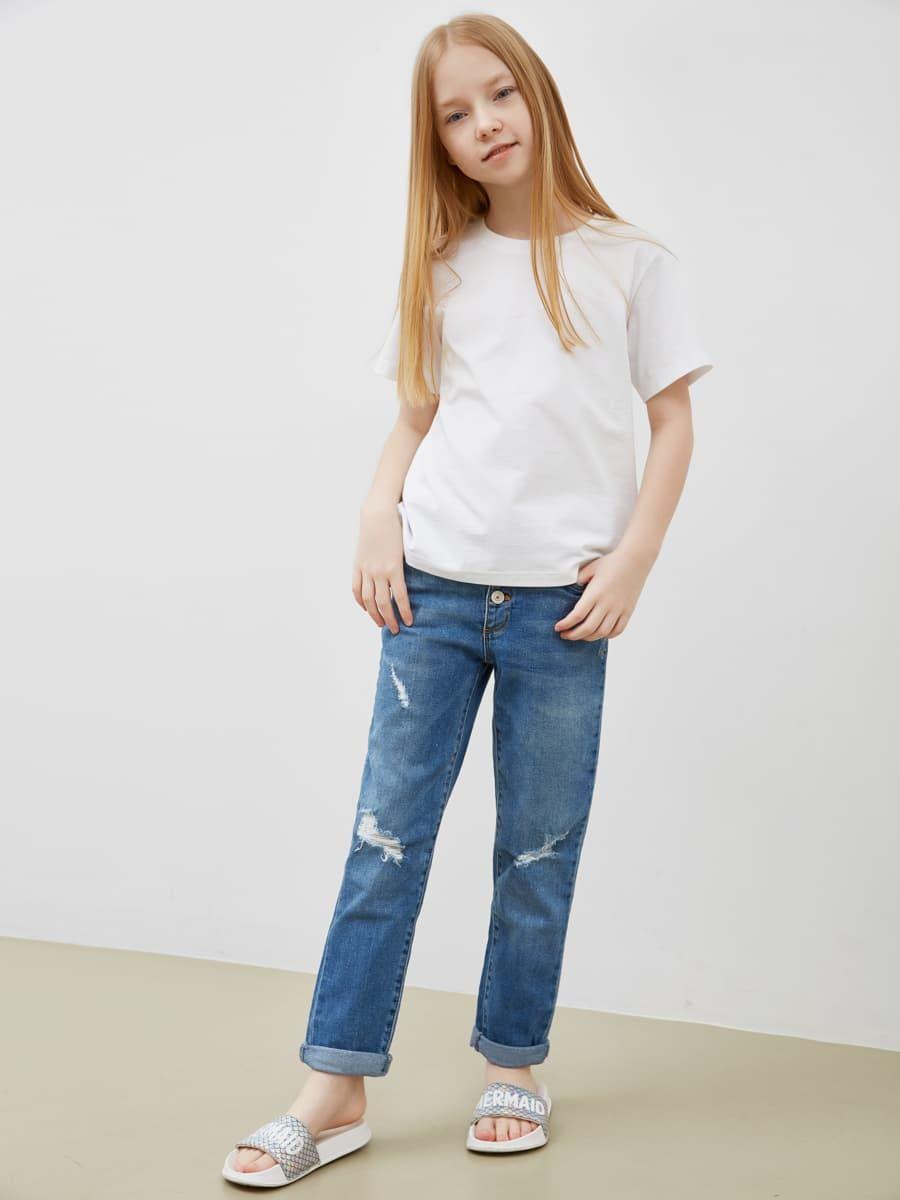 Базовая белая футболка Mark Formelle