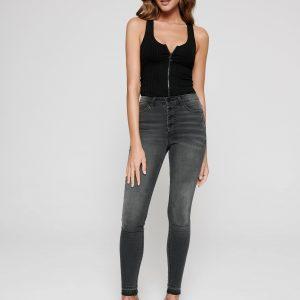 Брюки джинсовые ⭐️ Моделирующие eco-friendly джинсы skinny с высокой посадкой CON-225 Lycra® ⭐️