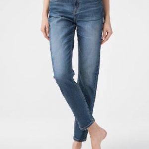 Брюки джинсовые ⭐️ Eco-friendly джинсы Vintage Relaxed Mom с высокой посадкой CON-167 ⭐️
