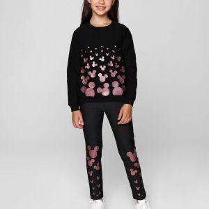 Леггинсы для девочек ⭐️ Термолеггинсы с мерцающим рисунком MICKEY SHINE ©Disney ⭐️