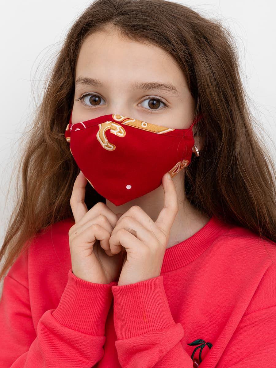 Детская новогодняя повязка для лица Mark Formelle