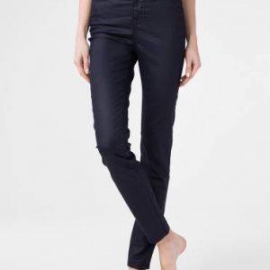 Брюки джинсовые ⭐️ Джинсы skinny c высокой посадкой и премиальным покрытием под кожу CON-172N ⭐️