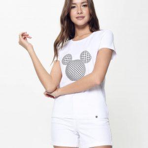 Джемпер женский ⭐️ Ультрамодная футболка с коротким рукавом ©Disney LD 947 ⭐️