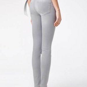 Брюки джинсовые женские ⭐️ Моделирующие eco-friendly джинсы skinny push-up с высокой посадкой CON-127 ⭐️