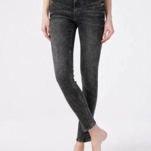 Брюки джинсовые ⭐️ Моделирующие eco-friendly джинсы skinny со средней посадкой CON-173 ⭐️
