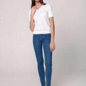 Брюки джинсовые ⭐️ Eco-friendly джинсы skinny с эффектом push-up и с высокой посадкой CON-296 ⭐️