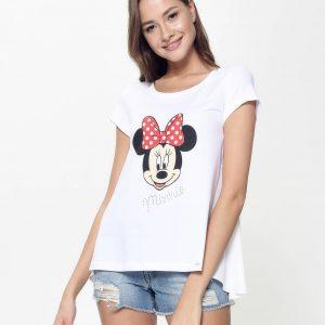 Джемпер женский ⭐️ Ультрамодная футболка с мерцающими стразами ©Disney LD 946 ⭐️