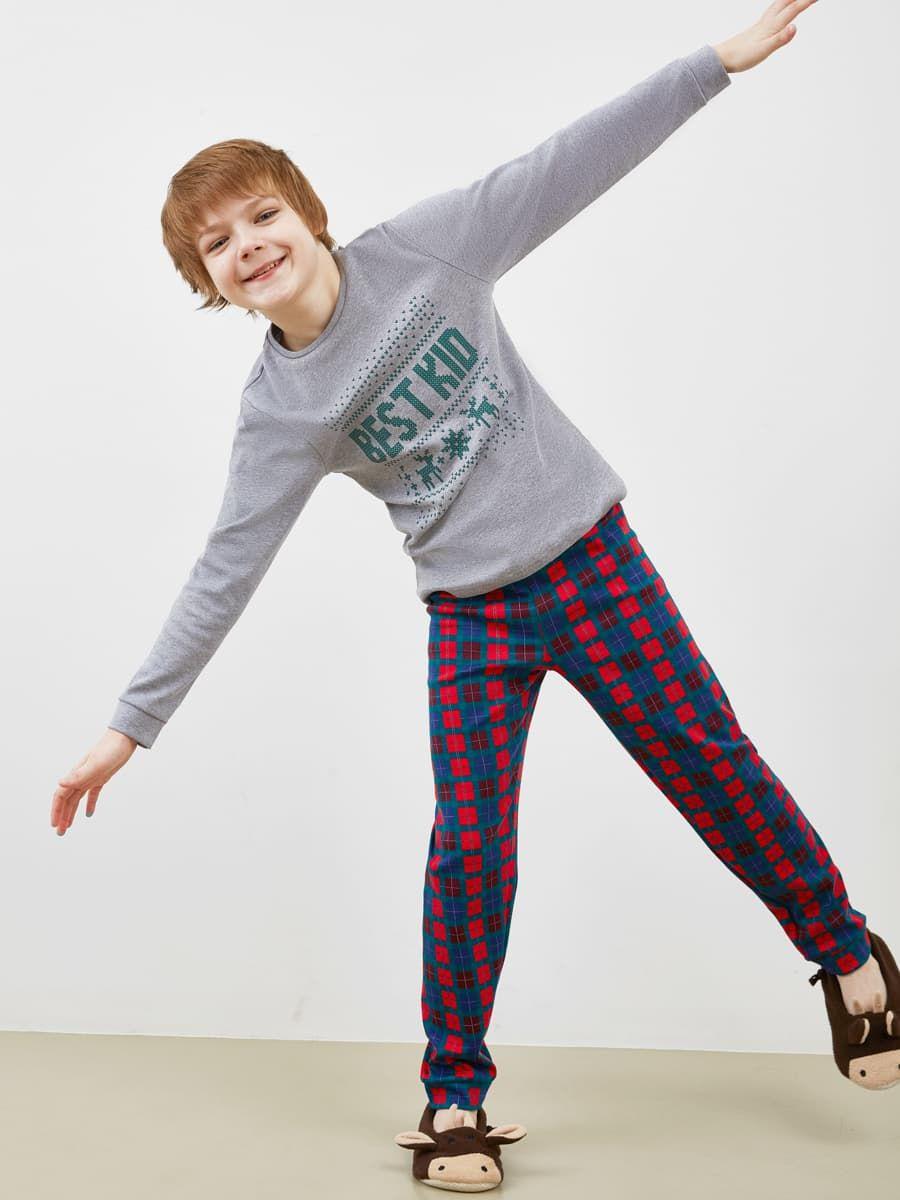Пижама для мальчика (лонгслив и брюки) Mark Formelle