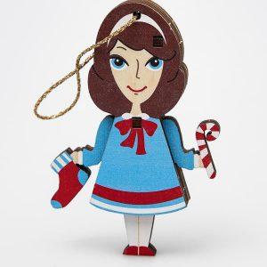 Деревянная игрушка в виде девочки Mark Formelle