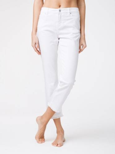 Брюки джинсовые ⭐️ Укороченные джинсы со средней посадкой CON-118 ⭐️