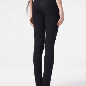Брюки джинсовые ⭐️ Моделирующие джинсы skinny push-up Premium Stay Black с высокой посадкой CON-149 ⭐️