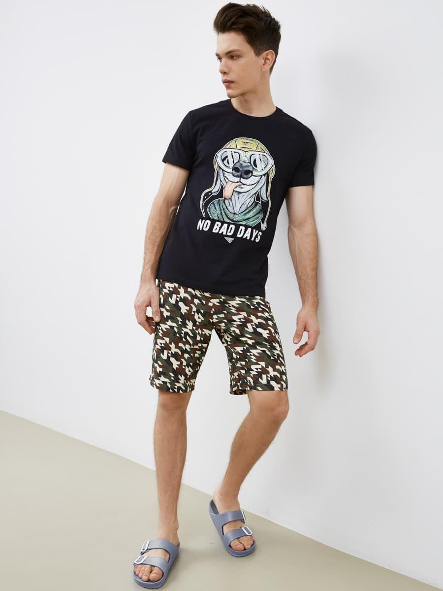 Домашний комплект (футболка и шорты) Mark Formelle
