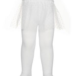 Колготки детские ⭐️ Хлопковые колготки TIP-TOP с декоративной юбочкой из фатина ⭐️