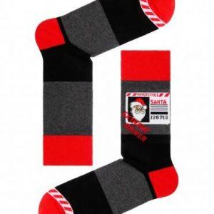 """Носки мужские ⭐️ Мужские новогодние носки """"Санта-Клаус"""" с пушистой нитью ⭐️"""