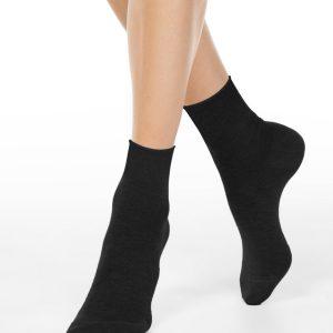 Носки женские ⭐️ Носки без резинки из премиальной пряжи с вискозой и кашемиром ⭐️