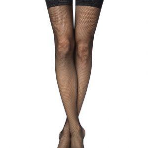 Чулки женские ⭐️ Чулки в мелкую сеточку с ажурной резинкой CLASS RETTE-MICRO ⭐️