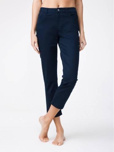 Брюки джинсовые ⭐️ Укороченные джинсы со средней посадкой CON-139B ⭐️