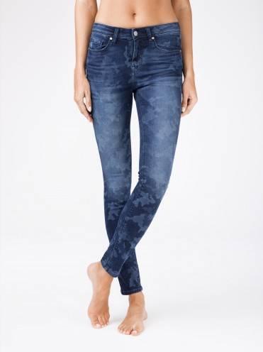 """Джинсы женские fashion ⭐️ Eco-friendly джинсы с принтом """"камуфляж"""" CON-93 ⭐️"""