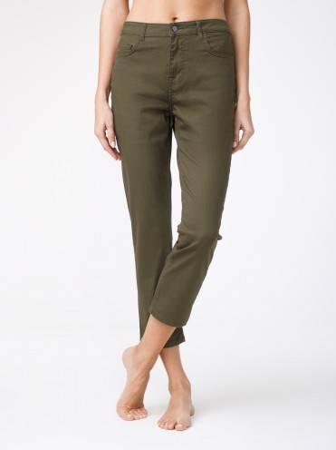 Брюки джинсовые ⭐️ Укороченные джинсы со средней посадкой CON-139A ⭐️
