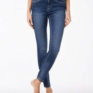 Джинсы женские классические ⭐️ Классические джинсы Skinny cо средней посадкой 756/4909D ⭐️