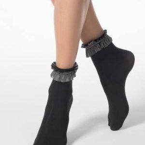 Носки женские ⭐️ Женские носки с модным блестящим декором FANTASY 50 ⭐️