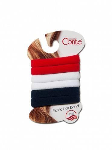 Резинка для волос ⭐️ Резинки для волос HARD (6 шт) черно-белый ⭐️