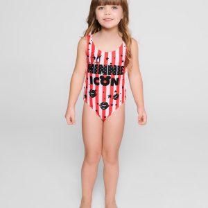 Купальник детский ⭐️ Слитный купальник с разрезами по бокам и спинке MINNIE ICON ©Disney ⭐️