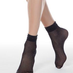 Носки женские ⭐️ Носки FANTASY 20 в горошек ⭐️