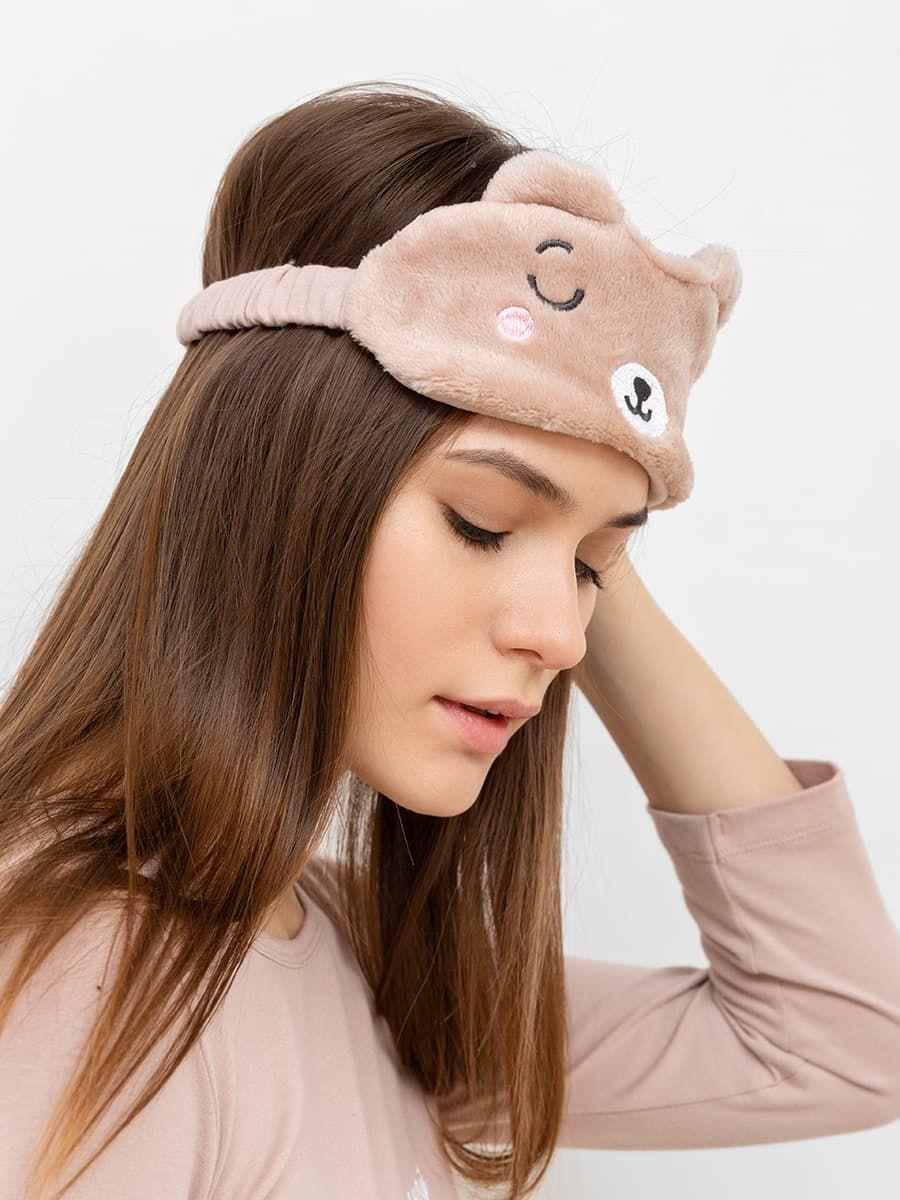 Повязка-медвежонок для сна Mark Formelle