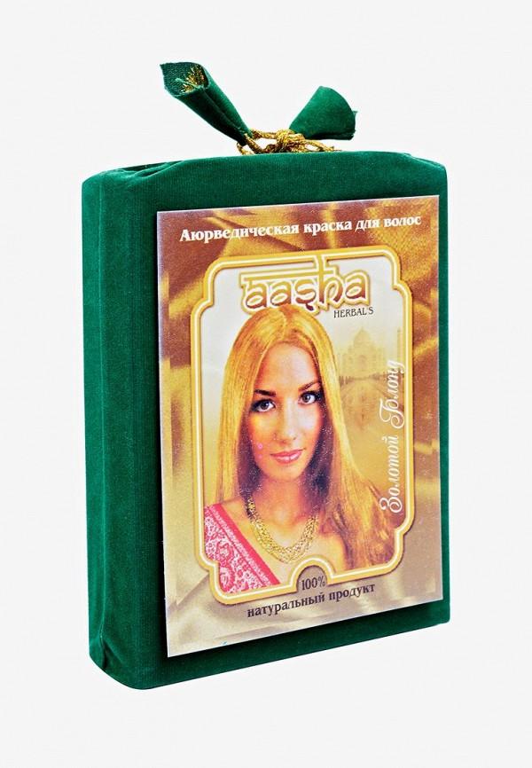 Краска для волос Aasha Herbals Аюрведическая Золотой Блонд
