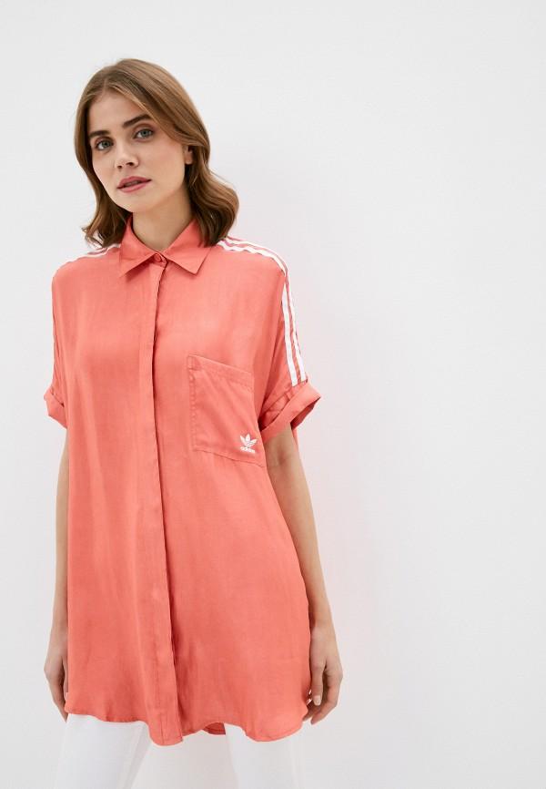 Рубашка adidas Originals SATIN DRESS