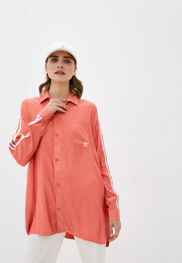 Рубашка adidas Originals SATIN BUTTON UP
