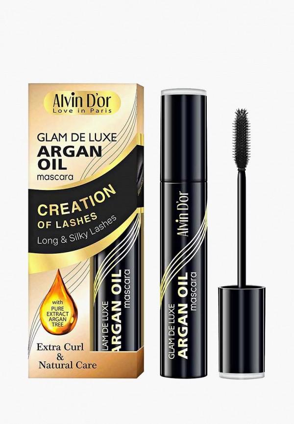 Тушь для ресниц Alvin D'or Glam De Luxe argan oil