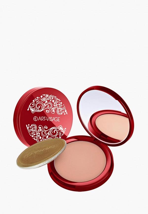 Пудра Art-Visage Silk Matte компактная для всех типов кожи