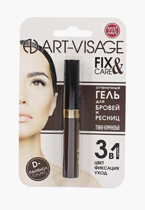 Гель для бровей Art-Visage темно-коричневый