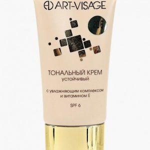 Тональный крем Art-Visage устойчивый с увлажняющим комплексом и витамином Е 206 натуральный бежевый
