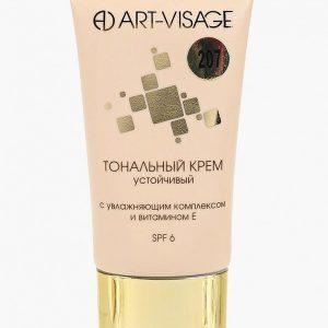 Тональный крем Art-Visage устойчивый с увлажняющим комплексом и витамином Е 207 розово-бежевый